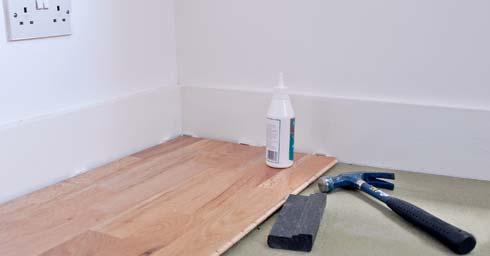 Parket laminaat nu houten vloer op vloerverwarming