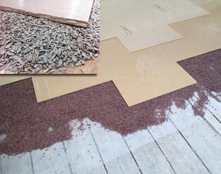 Vloer uitvlakken laminaat vloeren egaliseren vloer laten