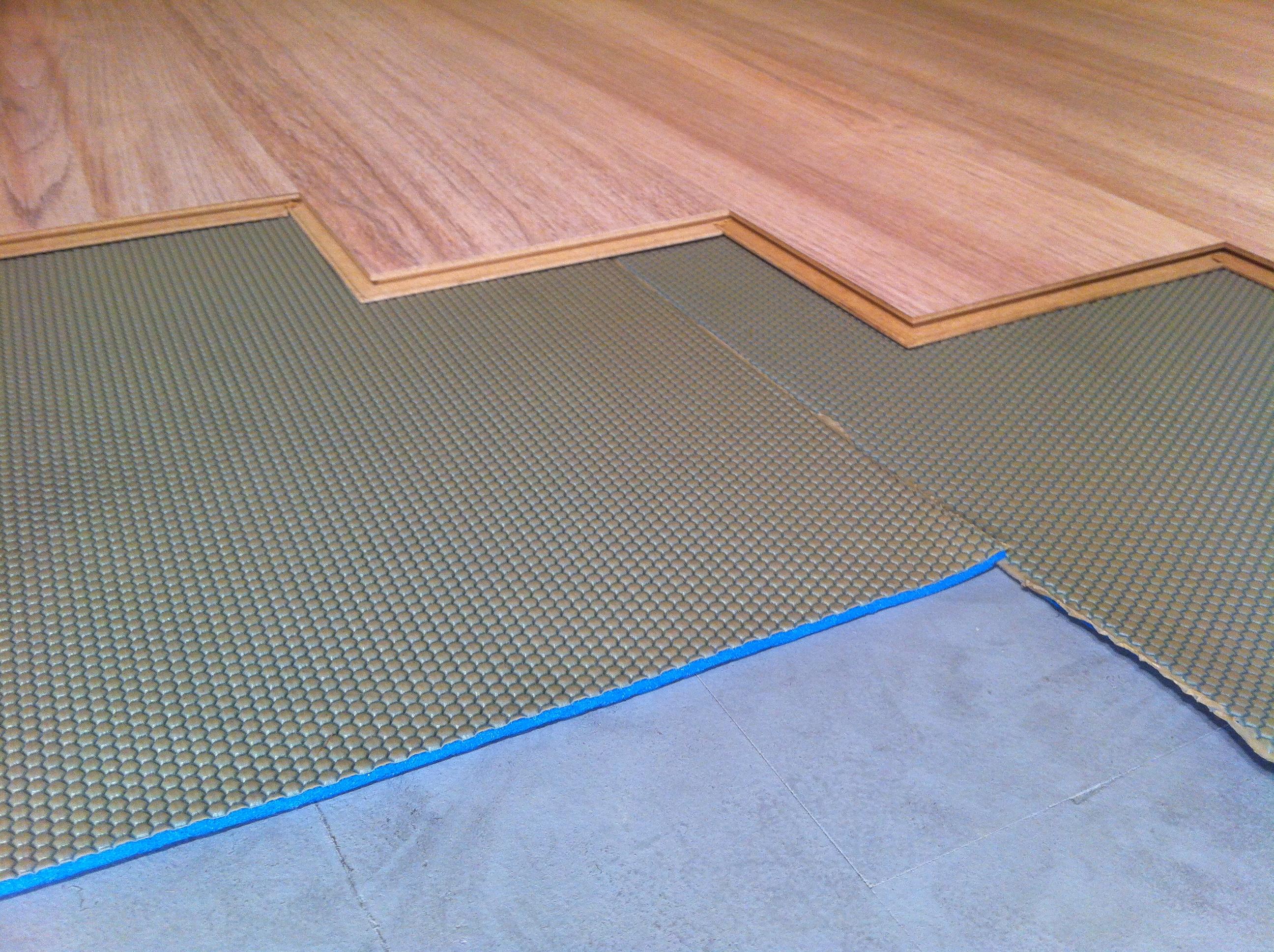 Parket laminaat nu assortiment ondervloeren voor vloerverwarming