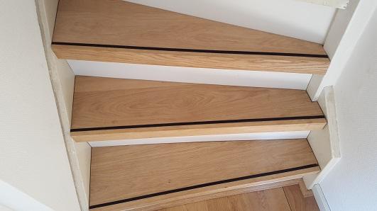 Parket laminaat nu trapbekleden traprenovatie houten